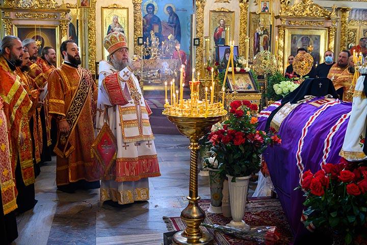 Состоялось отпевание архиепископа Чимкентского и Таразского Елевферия