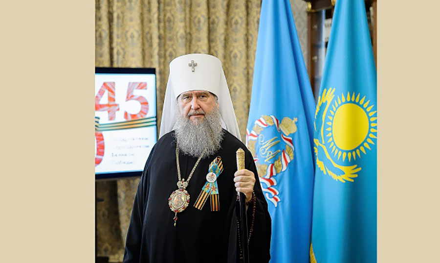 Поздравление митрополита Астанайского и Казахстанского Александра с Днем Победы