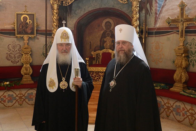 Митрополит Астанайский и Казахстанский Александр поздравил Святейшего Патриарха Московского и всея Руси Кирилла с днем рождения