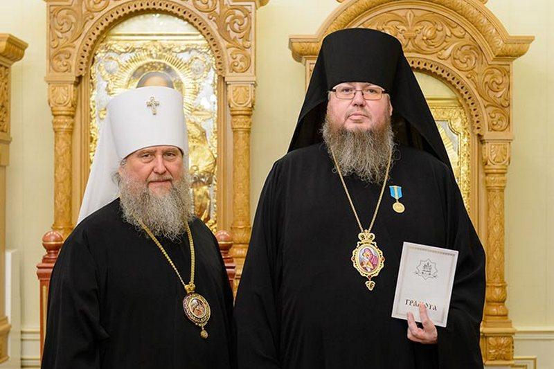 Митрополит Александр поздравил епископа Петропавловского и Булаевского Владимира с юбилеем
