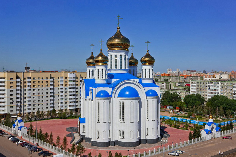 Церкви казахстана фото