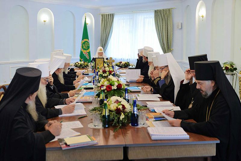 Глава Казахстанского Митрополичьего округа принял участие в первом в истории заседании Священного Синода Русской Православной Церкви в городе Минске