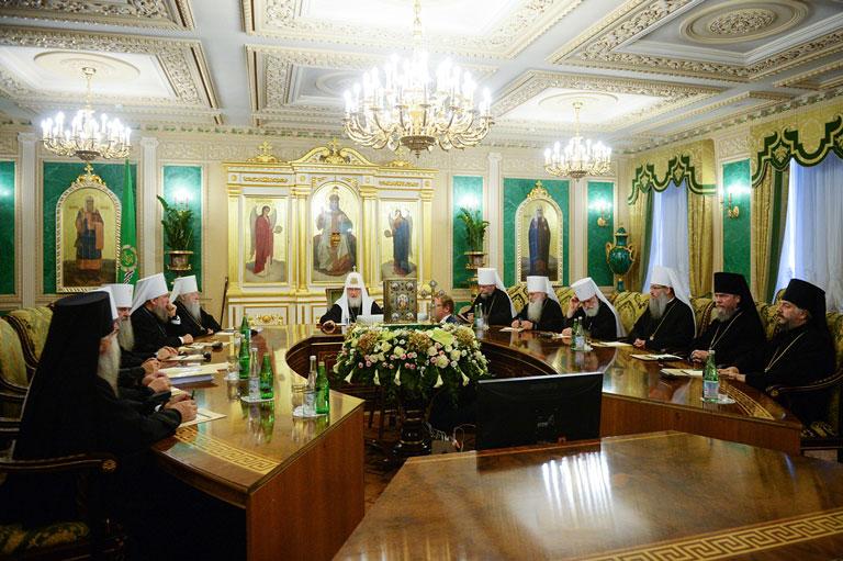 Глава Казахстанского Митрополичьего округа принял участие во внеочередном заседании Священного Синода Русской Православной Церкви