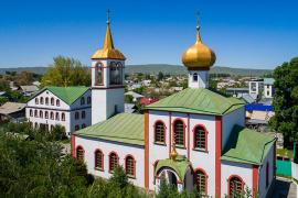 Собор во имя святого апостола и евангелиста Иоанна Богослова, город Талдыкорган
