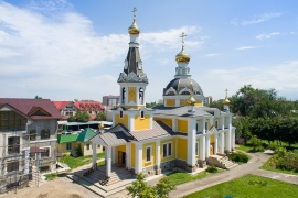 Храм во имя святого Архистратига Божия Михаила, город Каскелен
