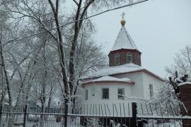 Храм во имя святого праведного Иоанна Кронштадтского, поселок Жетыген