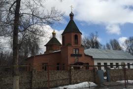 Храм во имя святителя Николая, архиепископа Мир Ликийских, чудотворца, село Междуреченское