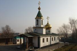 Храм во имя святого преподобного Сергия Радонежского, поселок Туймебаева