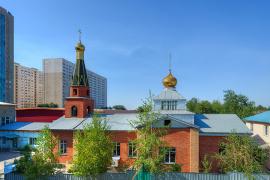 Храм в честь иконы Божией Матери «Всех скорбящих Радосте», город Алма-Ата