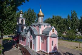 Храм во имя святой великомученицы Параскевы Пятницы, город Алма-Ата