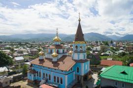 Храм святых апостолов Петра и Павла, город Алма-Ата