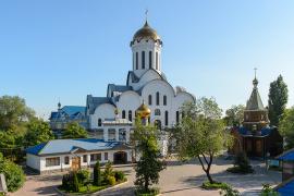 Собор в честь Рождества Христова, поселок Акбулак. (Алма-Ата)