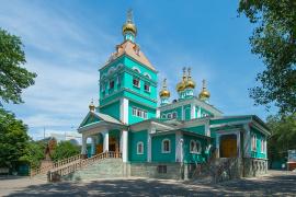 Собор во имя святителя Николая, архиепископа Мир Ликийских, чудотворца, город Алма-Ата