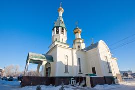 Храм во имя святого преподобного Серафима Саровского, город Астана